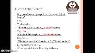 Španielčina online - prvá hodina
