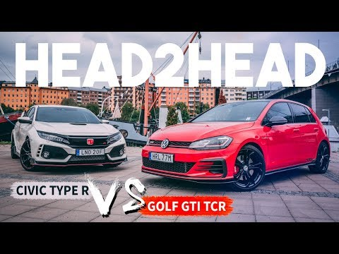 Hot Hatch HEAD2HEAD: VW Golf GTI TCR vs Honda Civic Type R