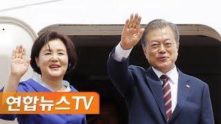 [현장연결] 문 대통령, G20 정상회의 참석차 출국 / 연합뉴스TV (YonhapnewsTV)