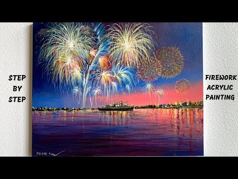 how-to-paint-acrylic-fireworks-step-by-step-tutorial-(colorbyfeliks)