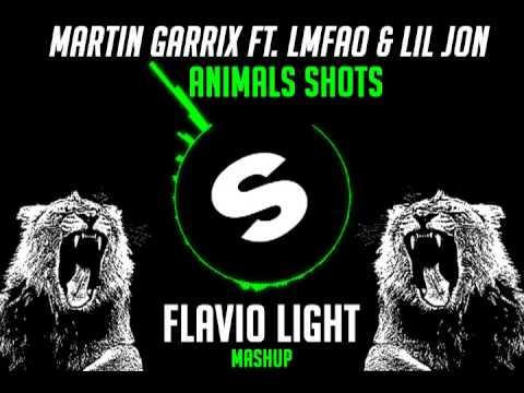 Martin Garrix ft.LMFAO & Lil Jon - Animals Shots