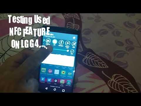 TESTING NFC  ON LG G4