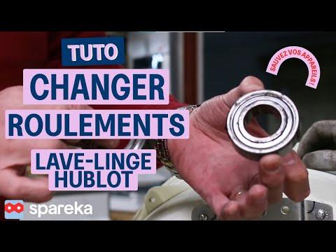 Comment changer les roulements sur votre lave-linge hublot ?