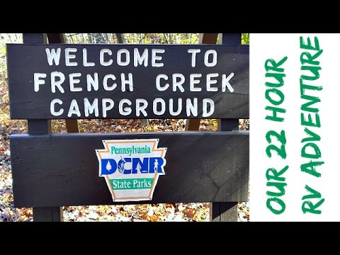 Camping At French Creek State Park
