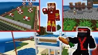 Minecraft Villiger Farm with Iron Farm Lizard EP 16 Truly Bedrock