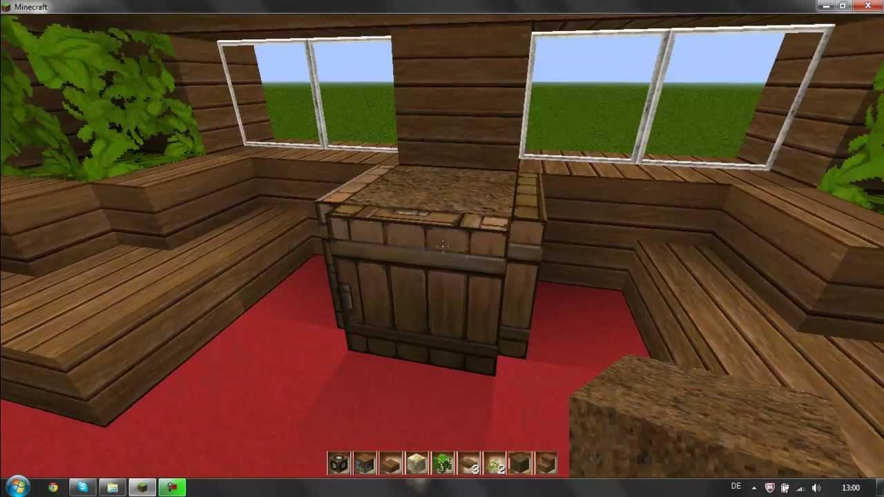 Minecraft Einrichtung Tipps 2 Wohnzimmer Youtube