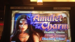 The Amulet And The Charm Slot Machine Free Spin Bonus