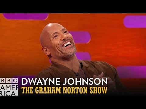 """Dwayne """"The Rock"""" Johnson Flawlessly Performs His Moana Rap  - The Graham Norton Show"""
