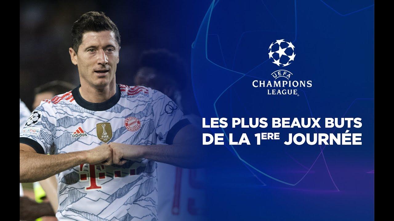 🏆 Champions League - Top buts J1 : Lewandowski a joué avec Piqué !