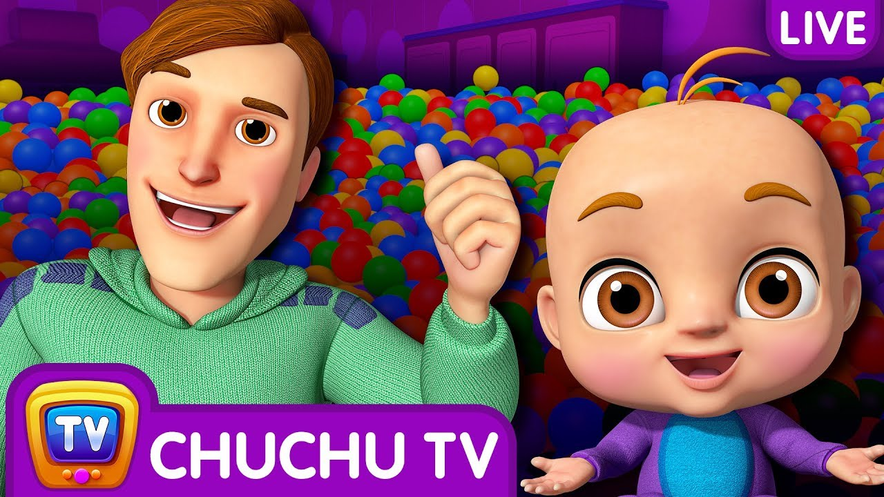 Johny Johny Yes Papa 3D Nursery Rhymes Songs For Babies Live Stream