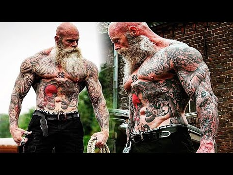 Workout Monster? Old Tattooed Bodybuilder | Motivational Video 2017
