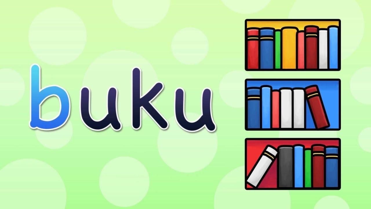 Abjad Bahasa Indonesia Belajar membaca untuk anak tk