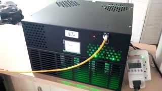 1TH Dragon Bitcoin Miner (ASIC) - Basic Overview, Configuration & Performance Video