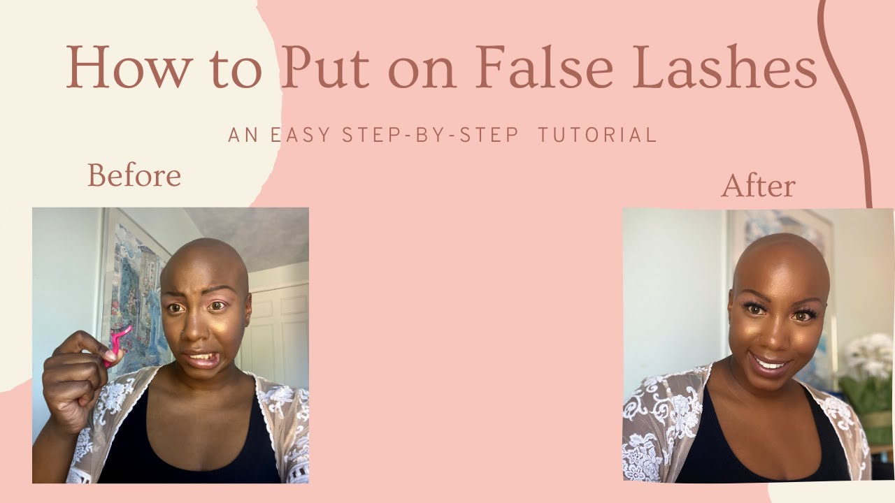 Watch My First Tutorial: How to Put on False Lashes