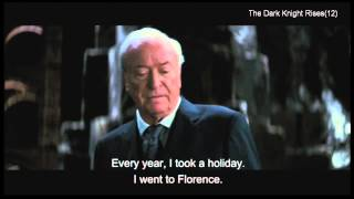 """【spoiler】The Dark Knight Rises (clip2) -""""you're not living"""""""