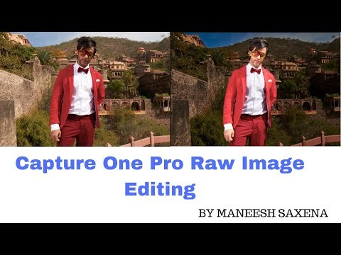 Capture one pro raw image editing
