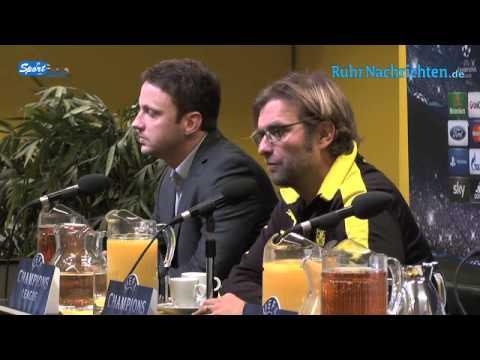 BVB Pressekonferenz vom 3. Dezember 2012 vor dem Spiel Borussia Dortmund gegen Manchester City