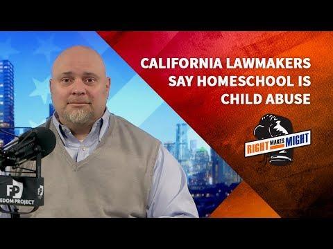 California Lawmakers Say Homeschool is Child Abuse     Dr. Duke Pesta