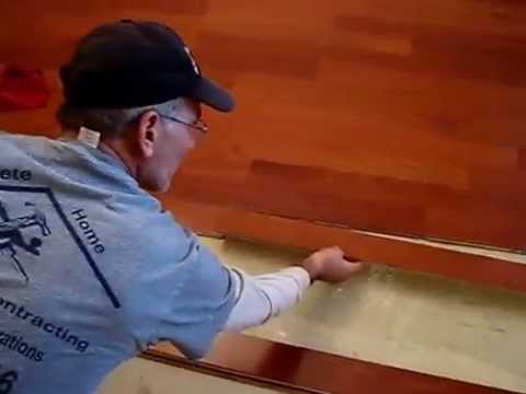 How To Install Glue Down Hardwood Flooring Prefinish Engineered