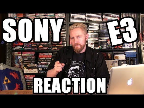 SONY E3 2017 CONFERENCE REACTION - Happy Console Gamer