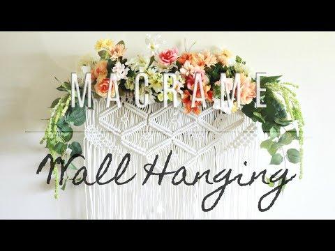HOW TO: DIY Macrame Wall Hanging thumbnail