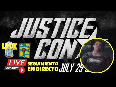justice-con-⭐️-seguimiento-en-vivo- -¡superman-con-traje-negro!