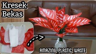 Cara membuat tanaman hias dari kresek bekas | DIY how to make  caladium tree with plastic bag MP3