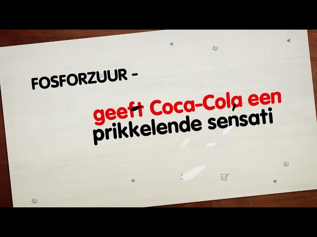 Welke ingredienten zitten er in een Coca-Cola?