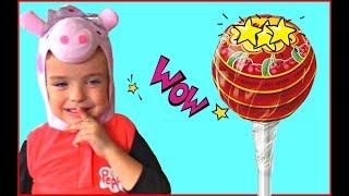 Makar plays hide and seek with Lollipop