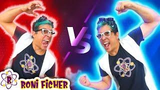 CAMALEÃO VS RONI FICHER!!! A BATALHA FINAL!!! HERO VS VILLAIN!!!