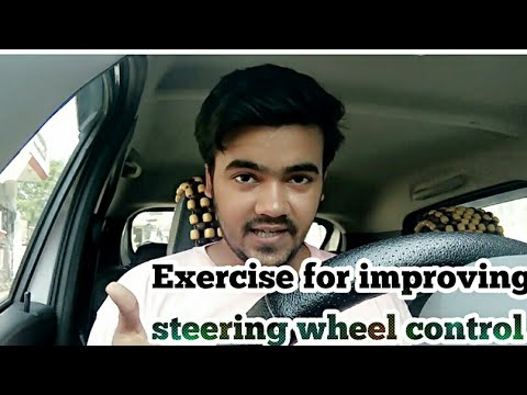 Improving control on car steering wheel & gear tips in Hindi