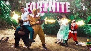 Wenn Fortnite realistisch war :v