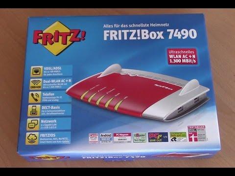 fritzbox 7490 edition o2 dsl installieren youtube. Black Bedroom Furniture Sets. Home Design Ideas