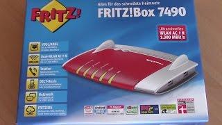Fritzbox 7490 Edition o2 DSL installieren