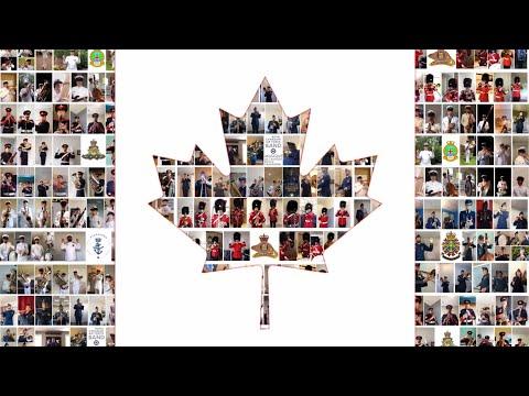 O Canada - CAF Bands   Canada Day 2020