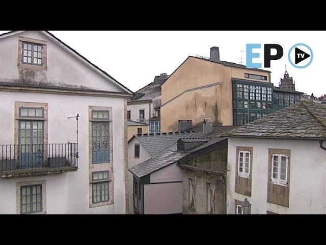 Años de abandono lastran el casco histórico de Lugo