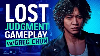 Lost Judgment PS5 Gameplay With Yagami Actor Greg Chun!