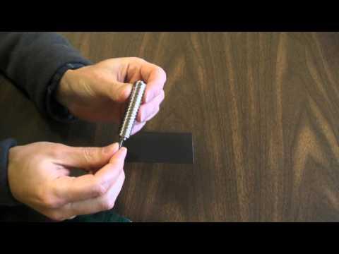 K&J Magnetics - Remagnetize a flexible fridge magnet!