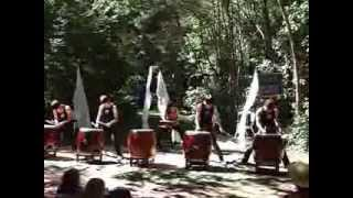 Takumi Japanese drums performance in little river Four brothers