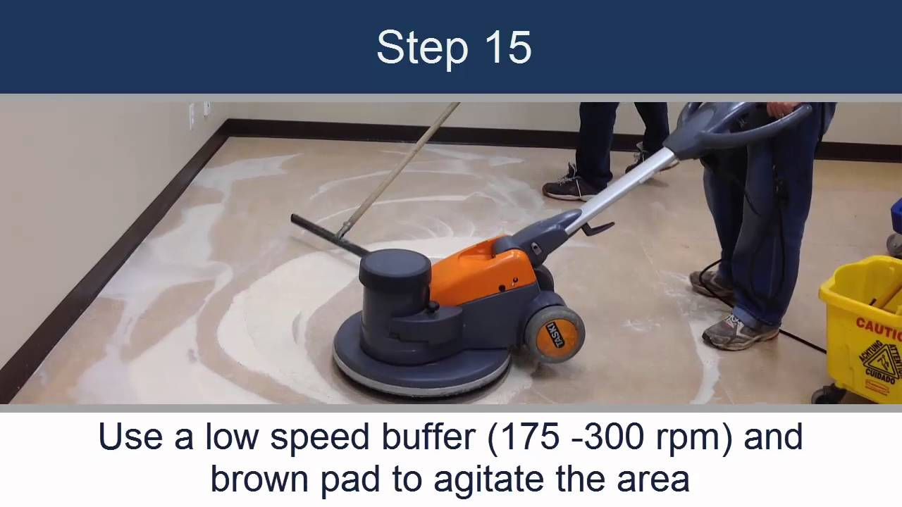 Wood Wyant Floor Stripping Linoleum How To Youtube