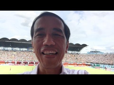 Vlog saya dari Piala Presiden 2017. Seru dan meriah😊