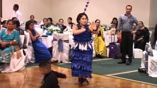 Tongan Tau'olunga Rachel 'Amalani Latu - Oneata Song (R.I.P Peseti Tupou'ila Latu)