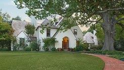 Historical Hal Thomson Lakewood Estate in Dallas, Texas