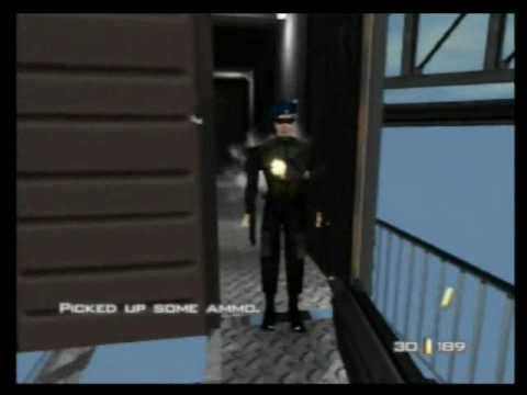 "Goldeneye 007 -  Unlocking the cheat: ""Gold PP7"" - Cradle"