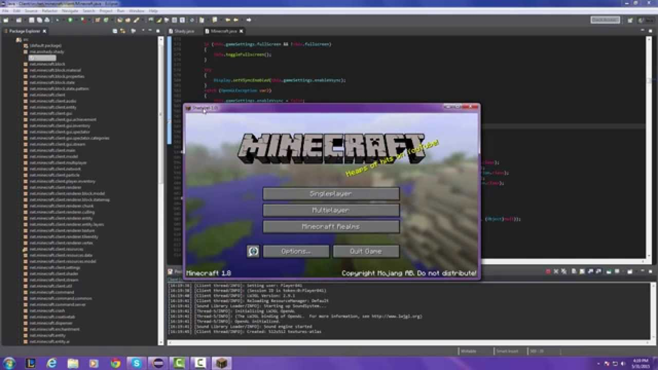 How To Code A Minecraft Client - Part 1 - Getting Started