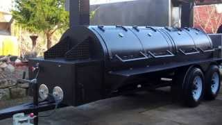 """cargopit"" Reverse Flow Bbq Smokers! For Sale"
