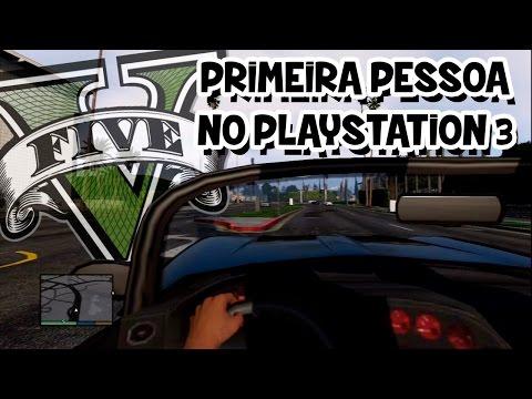 GTA V – PRIMEIRA PESSOA NO PS3!!!