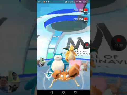 Pokémon go at mall of Scandinavia (Pokémon go)