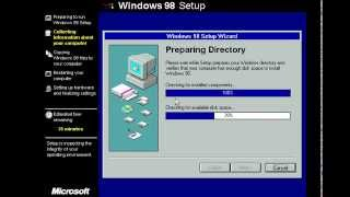 Windows 98 Installation