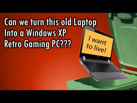 Can we turn this old laptop into a Retro Gaming PC?
